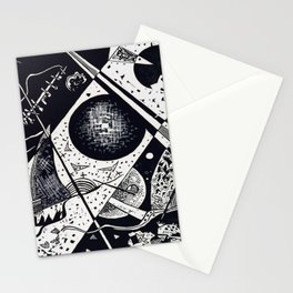Wassily Kandinsky Small Worlds VI Stationery Cards
