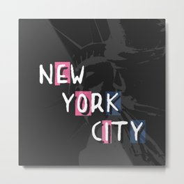 Statue de la liberté - New York City Metal Print