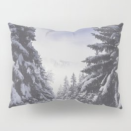 It's gonna clear up - Landscape and Nature Photography Pillow Sham