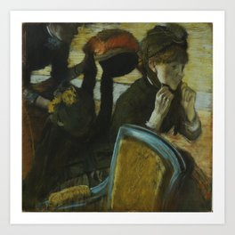At the Milliner's Art Print