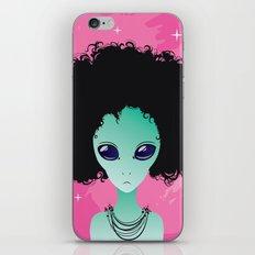 alien poster iPhone Skin