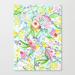 Spring High Tea Canvas Print
