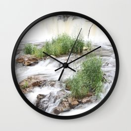 Waterfalls of Wisconsin, Willow River Wall Clock