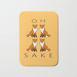 Oh Four Fox Sake - Bath Mat