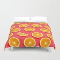 fruit Duvet Covers featuring  FRUIT by mark ashkenazi