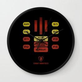 Knight Rider - KITT Wall Clock