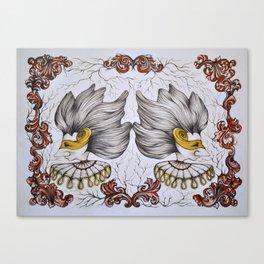 Gemini Stranger Canvas Print