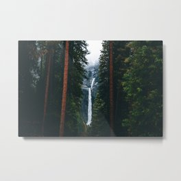 Yosemite Falls - Yosemite National Park, California Metal Print