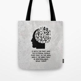 George Orwell - 1984 - Mind Control Tote Bag