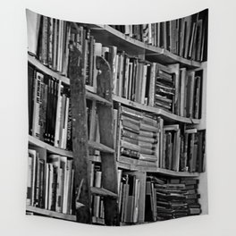 Book Shelves Wall Tapestry