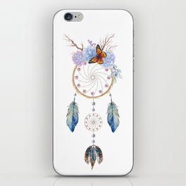 Boho dreamcatcher iPhone Skin