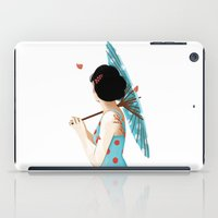 sakura iPad Cases featuring Sakura by Luiza Abend