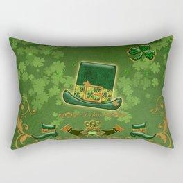 Happy st. patricks day Rectangular Pillow