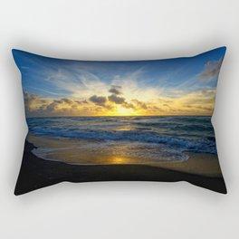 With Each Sunrise We Start Anew Rectangular Pillow