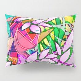 Grunge Art Floral Abstract G130 Pillow Sham