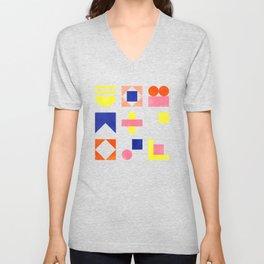 Geometry- pattern no1 Unisex V-Neck