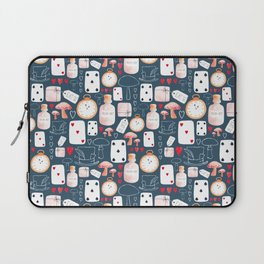 Alice in Wonderland - Indigo madness Laptop Sleeve