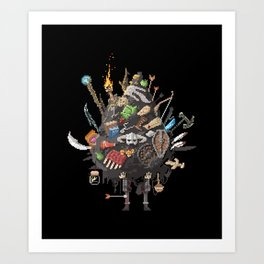 Let me guess, someone stole your sweetroll Art Print