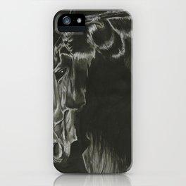 Dark Horse iPhone Case