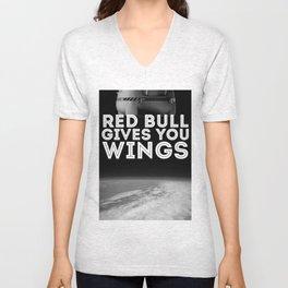 Felix Baumgartner Wings Unisex V-Neck