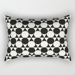 Vintage 60s geometry pattern 25 Rectangular Pillow