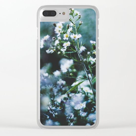 Delicate Life Clear iPhone Case