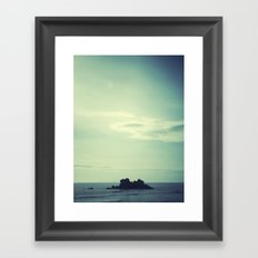 Island. Framed Art Print
