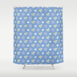 Hana Space - Violet And All Shower Curtain