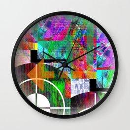 Abstracta No.2 Wall Clock