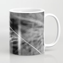 Abstract Blowing Grass Coffee Mug