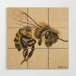 Bee VII (Artemesia) Wood Wall Art