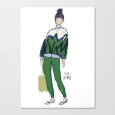 Susie's Bubble Canvas Print