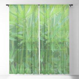 Flowers Izby Garden 3 Sheer Curtain