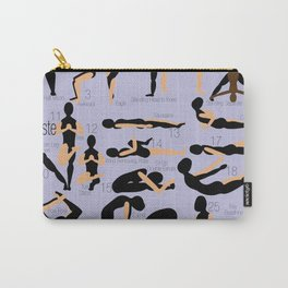 Namaste Purple Carry-All Pouch