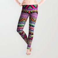 people Leggings featuring OVERDOSE by Bianca Green