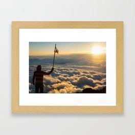 Mt. Fuji.  Framed Art Print
