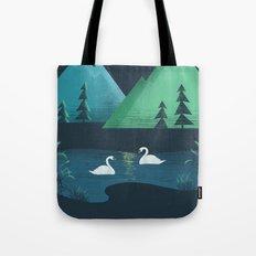 Moonlight Swim Tote Bag