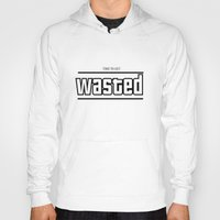 wasted rita Hoodies featuring WASTED by Chris1717