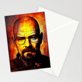 breaking bad-walter white Stationery Cards