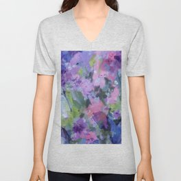 Lavender Blue Unisex V-Neck