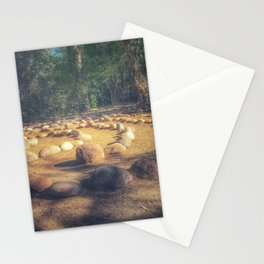 Circle in nature Stationery Cards