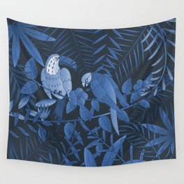 Tropical Paradise Pattern 3 Wall Tapestry