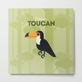 The Toucan Metal Print