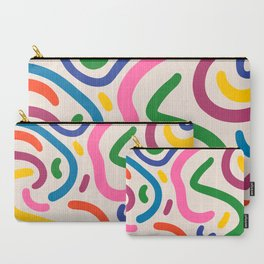 Colorful mess Carry-All Pouch