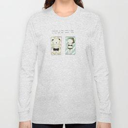 Full moon mood Long Sleeve T-shirt