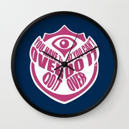 TomorrowWorld 2013 - Over Do It Wall Clock