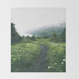 Happy Trails XIX Throw Blanket