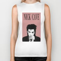 nick cave Biker Tanks featuring nick cave by tama-durden