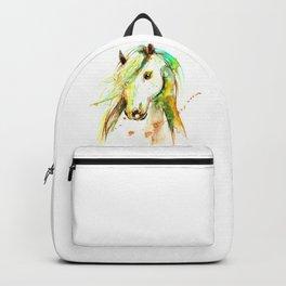 WATERCOLOR HORSE Backpack