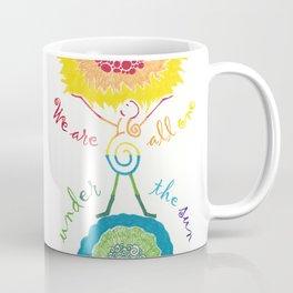Unity Goddess of the Universe / Rainbow Coffee Mug